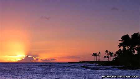 Photograph: Kuhio Sunset