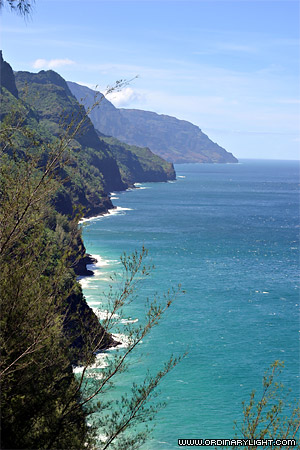 Photograph: Cliffs, Sea, and Sky