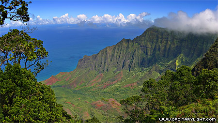 Photograph: Kalalau Lookout