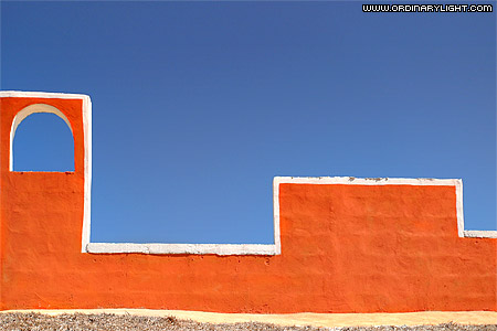 Photograph: Orange Wall