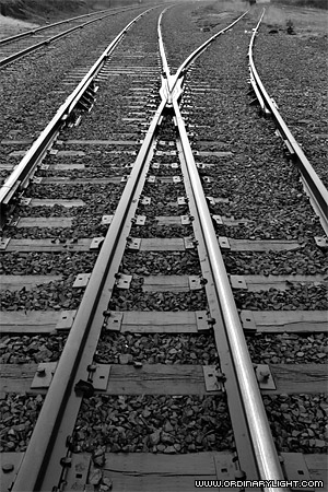 Photograph: Iron Rails